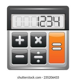 Electronic Calculator Icon
