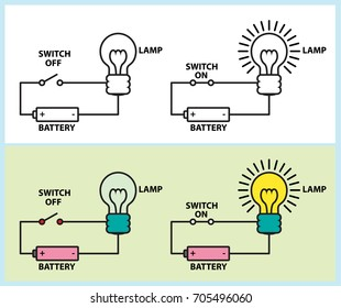electric circuit diagram images stock photos vectors shutterstock rh shutterstock com Basic Electric Circuit Diagram Basic Electric Circuit Diagram