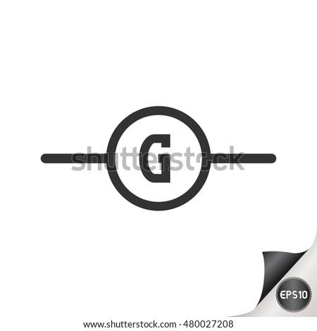 Generator Circuit Symbol Data Wiring Diagrams