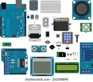 electronic components for prototype applications