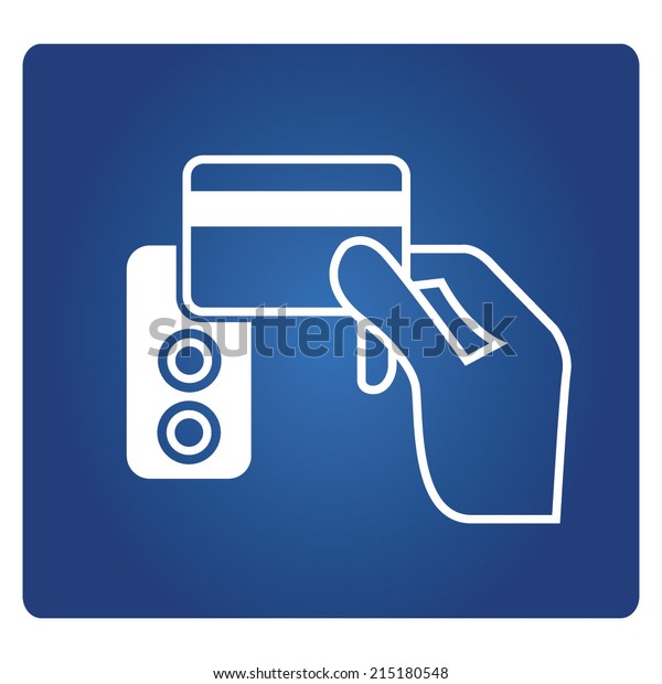 Electronic Key System Smart Key Card Stock Vector (Royalty