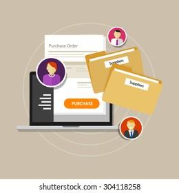 electronic procurement management supplier process clean accountable e-procurement