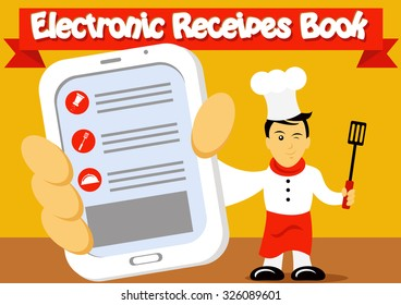 Electronic Recipes Book