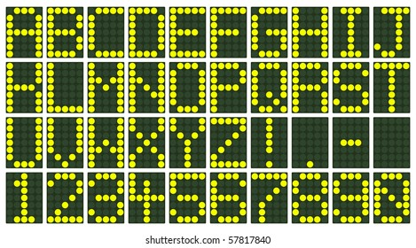Electronic Scoreboard Display