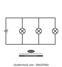 Electric Circuit Symbol Images, Stock Photos & Vectors ... on