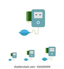 Electronic tonometer icon