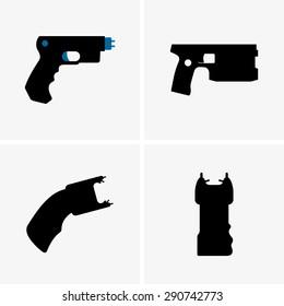 Electroshock weapons