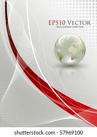 Elegant abstract background - vector illustration