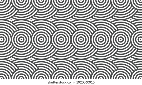 Elegant abstract geometric pattern for various design purposes. Vector in eps 10.