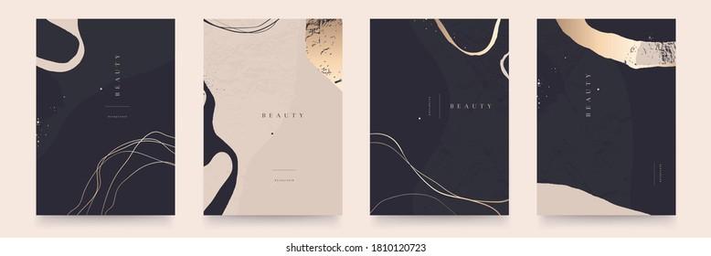 Elegant abstract trendy universal background templates. Minimalist aesthetic. - Shutterstock ID 1810120723