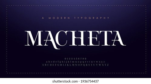 Elegant alphabet letters font and number. Classic Lettering Minimal Fashion Design. Typography modern serif fonts decorative vintage concept. vector illustration - Shutterstock ID 1936754437