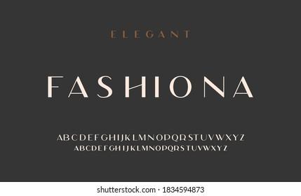 Elegant alphabet letters sans font. classic typography fonts regular uppercase, lowercase. Vector - Shutterstock ID 1834594873