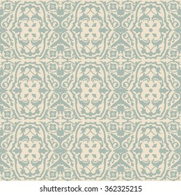 Elegant antique background image of spiral flower vine pattern. Antique background image patterns can be used for wallpaper, web page background, surface textures.
