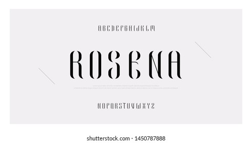 Elegant awesome alphabet letters font and number. Classic Lettering Minimal Fashion Designs. Typography fonts regular uppercase