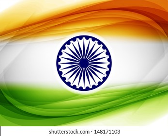 Elegant background design for Indian republic day and independence day. vector illustration