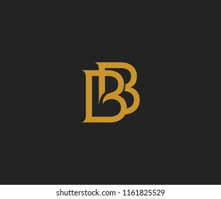 Bb logo images stock photos vectors shutterstock for Bb design