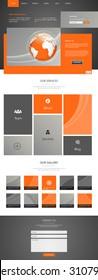 Elegant Business Website Template Design
