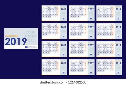 Elegant Calendar 2019