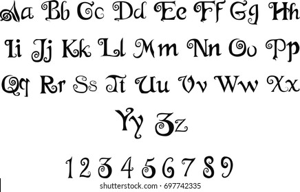 Elegant Calligraphic Font -  Vintage decorative font