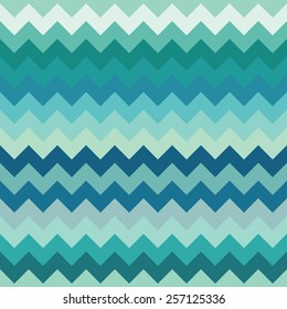 Elegant chevron pattern with a selection of cool and trendy color palette