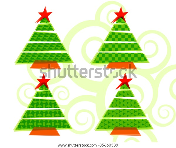 elegant christmas background with beautiful hangings