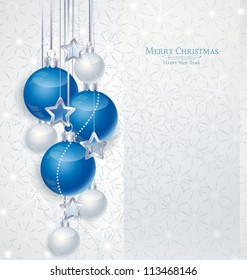 blue christmas background images stock photos vectors shutterstock https www shutterstock com image vector elegant christmas background blue silwer baubles 113468146