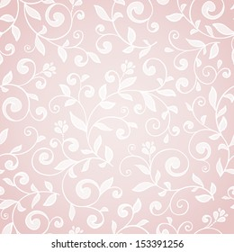 Elegant classic seamless floral pattern. Damask style.