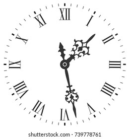 Roman Clock Images, Stock Photos & Vectors   Shutterstock