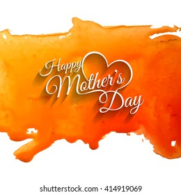 Elegant creative background design for mother's day.