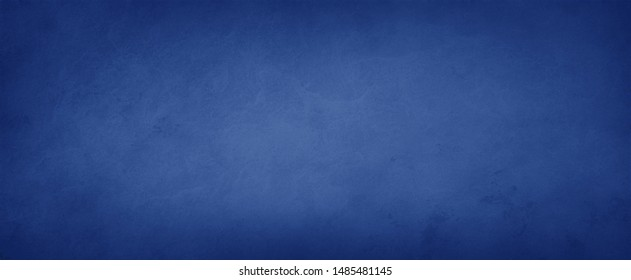 Elegant dark solid blue background with elegant border and rich deep colors with faint vintage texture and light center with blank space