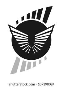 Elegant emblem