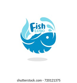 Elegant Fish Logo Vector Illustration eps.10