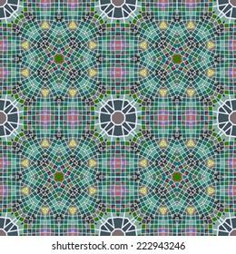 Elegant geometric seamless pattern with rectangular triangular shapes, EPS8 - vector graphics.