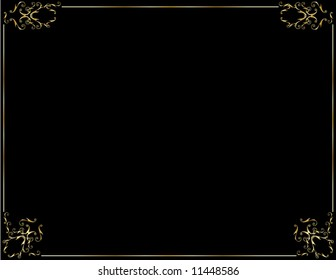 Elegant gold black background 7