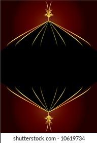 Elegant gold red background 1