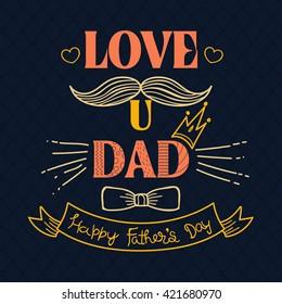 I Love You Dad Afbeeldingen Stockfotos En Vectoren Shutterstock