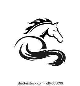 elegant horse art