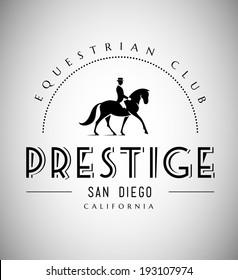 Elegant Horse Club Emblem