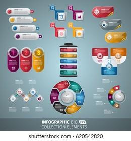 Elegant Infographic Collection