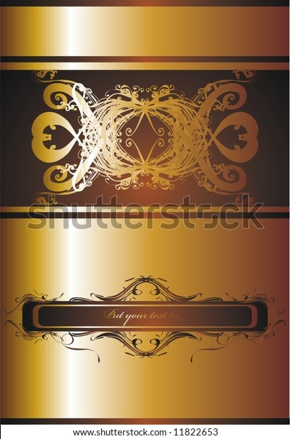 Elegant Invitation Design Stock Vector (Royalty Free) 11822653