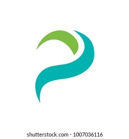 Elegant Letter P logo template. Unique Letter P Symbol, Logo Design Inspiration
