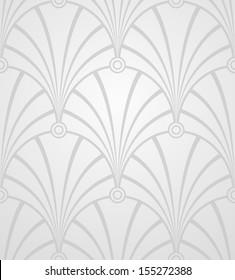 Elegant light wallpaper. Vector