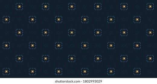 Elegant masculin pattern crosshatch pinstripes digital design minimal semitone check motif. Small patch wax printing block for apparel textile, ladies dress fabric, mens wear, fashion garment, package