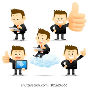 Elegant People Series | Cloud computing concept