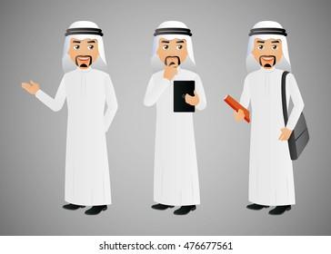 Elegant People-Arab-Businessman
