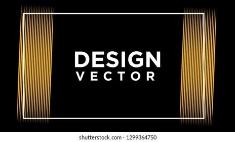 elegant pillar attorney logo line design template illustration - vector