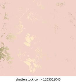 Elegant pink blush gold chic marble grunge texture