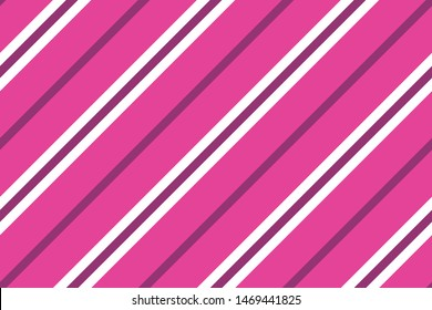 Elegant seamless pattern with slanted lines. Vector illustration. Different shades of pink color