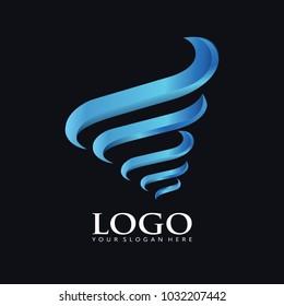 Elegant Tornado logo icon