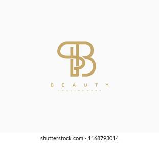 Elegant Vector Linear Minimalist Letter B Logo Design